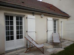 Maison T2 jardin avec meubles- Emile Gauthier SAINTE SAVINE