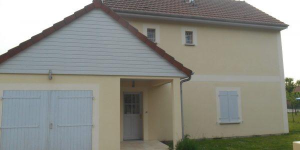 Maison T5 avec jardin + garage –  Barberey Quartier Calme